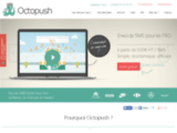 API SMS et plate forme d'envoi en masse, Octopush