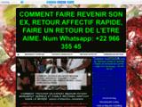 RITUEL RETOUR D'AFFECTION RAPIDE